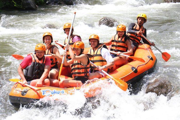 Sobek rafting ayung river - Dampak Positif Melakukan Aktivitas Rafting